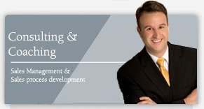 Consulting Sales Management and Sales Process Development